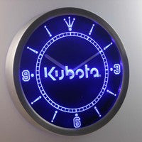 Kubota Tractor 3D Neon Sign LED Wall Clock NC0176-B