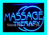 Massage Therapy Body OPEN NEW LED Neon Light Sign