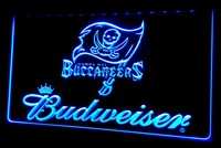 Tampa Bay Buccaneers Budweiser Neon Sign (NL431. Light. LED)