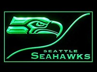 Seattle Seahawks Neon Sign (Cool. LED. Light)