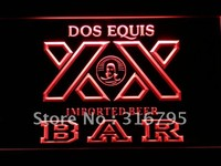BAR Dos Equis Beer LED Neon Sign