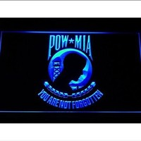 US POW MIA You Are Not Forgotten Neon Sign (Light. LED)