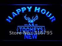 Tooheys New Happy Hour Beer Bar LED Neon Sign