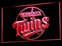 Minnesota Twins Neon Sign (Light. B121-r. Nr. Pub. Gifts. LED. MLB)