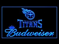 Tennessee Titans Budweiser Neon Sign (LED. Light)