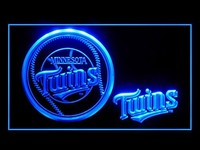 Minnesota Twins Neon Sign (Baseball. LED. MLB. Light)
