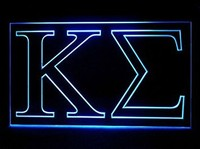 Kappa Sigma Neon Sign (Light. Fraternity. Symbol. LED)