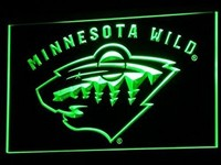 Minnesota Wild Neon Sign (NHL. Hockey. Light. LED)
