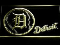 Detroit Tigers Neon Sign (286-b. Light. Logo. Baseball. MLB. LED)