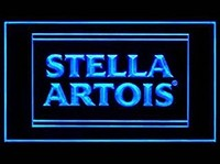 Stella Artois Beer Neon Sign (Bar. LED. Light)