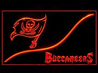 Tampa Bay Buccaneers Neon Sign (Cool. LED. Light)