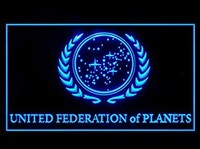 Star Trek United Federation of Planets Neon Sign (LED. Light)