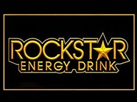 Rockstar Energy Drink Neon Sign (LED. Light)