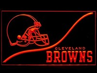 Cleveland Browns Neon Sign (Cool. LED. Light)