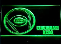 Cincinnati Reds Neon Sign (Baseball. Bar. Light. 282-r. MLB. LED)