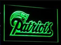 New England Patriots Neon Sign (Light. LED)