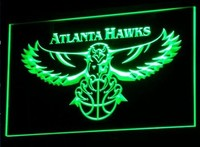Atlanta Hawks Neon Sign (B001-b. LED)