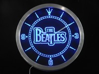 The Beatles Band Bar Beer Neon Sign LED Wall Clock