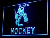 Ice Hockey Neon Sign (Display. Sports. Light. LED)