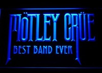 Best Band Ever Motley Crue Neon Sign (Light. LED)