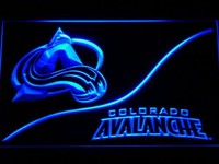Colorado Avalanche Neon Sign (Light. NHL. Hockey. LED)