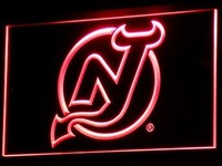 New Jersey Devils Neon Sign (Hockey. Nr. Light. B093-r. LED)