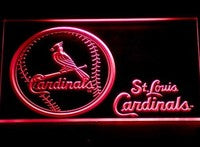 St. Louis Cardinals Neon Sign (Baseball. Light. 265-r. LED. MLB)