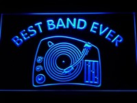 Best Band Ever DJ Turntable Mixer LED Neon Sign
