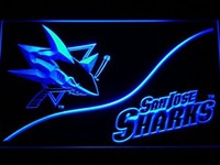 San Jose Sharks Neon Sign (Light. NHL. Hockey. LED)