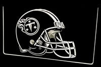 Tennessee Titans Helmet Neon Sign (Light. Bar. LED)