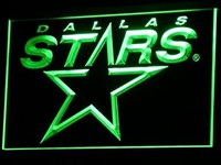 Dallas Stars Neon Sign (NHL. Hockey. Light. LED)