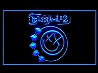 Blink 182 Bar Hub Advertising LED gaismas signāls J742B