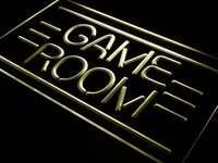 GAME ROOM Neon Sign (Light Displays Toys TV LED)