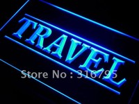 Travel Agency Service Neon Sign (Light. LED)