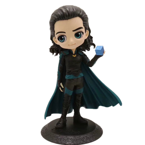 Avengers 4 Endgame Loki Q.Ver PVC Action Figures Rotaļlietas Avengers Endgame Anime Movie Loki Figurine Toy Doll Dāvanas