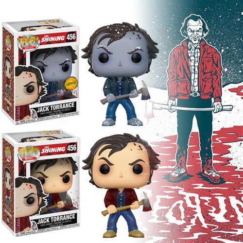 Funko Pop The Shining Jack Torrance Action Figure Toys JACK TORRANCE Winter Snow Model Collectibles Gift voor Collector Fan Toys