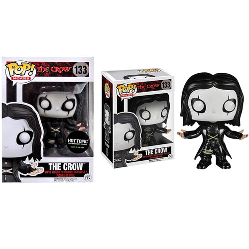 Funko Pop! Movies: The Crow and Glows in the dark Hot Topic Exclusief Action Figure Toys Collectie model speelgoed cadeau