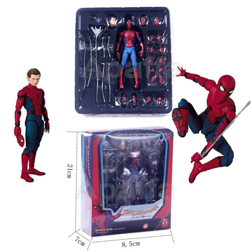 "Marvel Spider Man Tom Holland 6 ""Action Figure Homecoming Ver Spiderman Legends Far From Home KO's Mafex 047 Medicom Toys Pop"