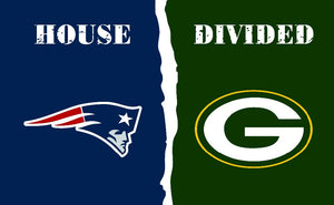 Green Bay Packers Fans new England Patriots Only Flag MAN CAVE Banner Flag World Series Football Team 3ft X 5ft Banners