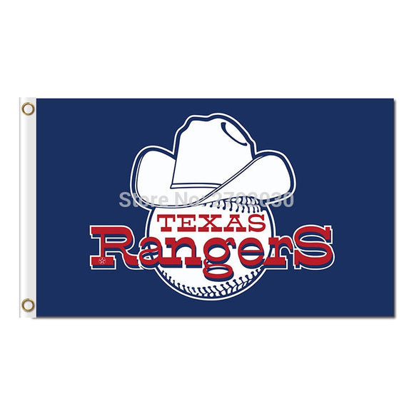 Texas Rangers Flag Banner Baseball Design Team Banners Champions Flag 3x5ft World Series Flying Custom Rangers Text 100D