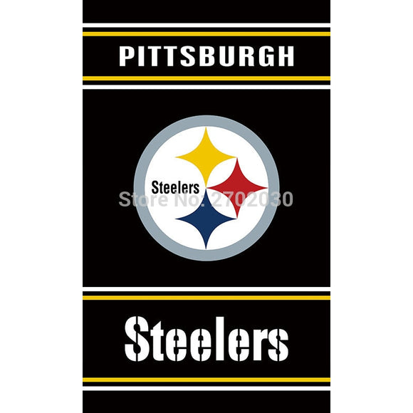 Pittsburgh Steelers Flag Super Bowl Champions Flag 3ft X 5ft Polyester Banner World Series Football Team Pittsburgh Steelers