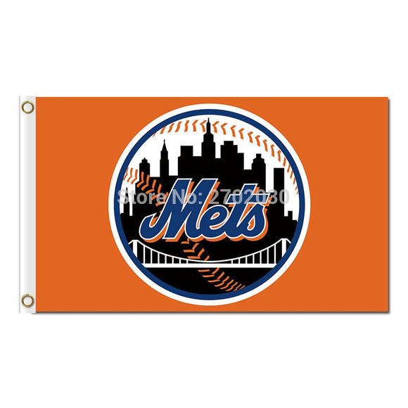 Baseball Design New York Mets Flag World Series Champions Super Team Fan Team Banners Flags 90x150cm Banner 100D Polyester