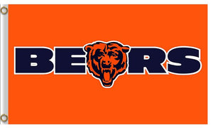 Logo Design Chicago Bears Flag Sport Banners Football Team Flags 3x5 Ft Super Bowl Champions Banner Bear 90x150 Cm Hand Flag