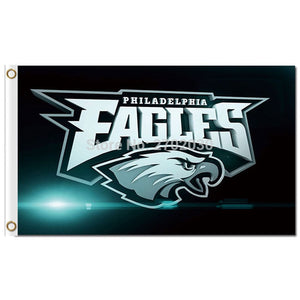 Philadelphia Eagles Flag 3x5 FT 150X90CM Banners 100D Polyester Flag World Series 2016 Philadelphia Eagles Banner Flag