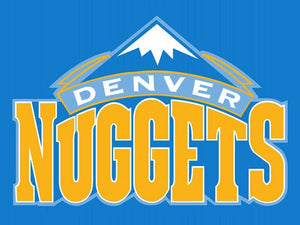 Denver Nuggets Basketball Team Star and Strip Flag Banners US 90*150 Banner Sports Fan 100D Polyester Hanging Decoration