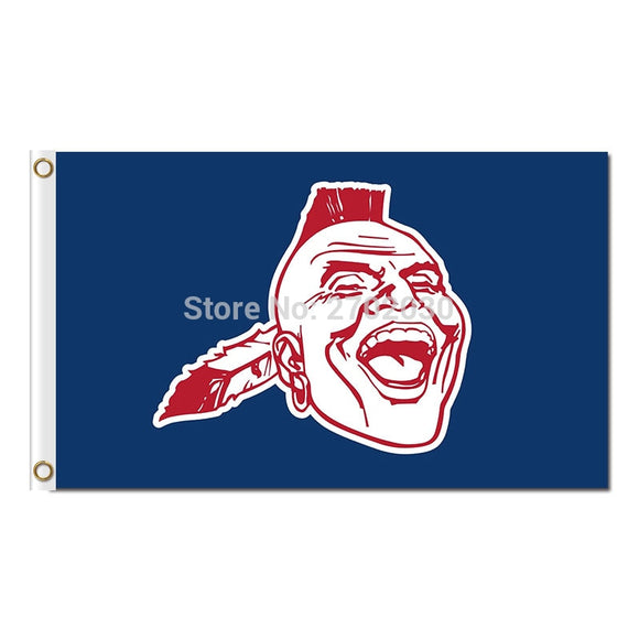 Blue Logo Design Atlanta Braves Flag Baseball Super Team Custom Logo Banners 3x5 Ft Major League Baseball Flags Banner 90x150cm
