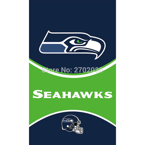 Seattle Flag Team Hanging Bowl Fan Decoration Banner Flag 3ft X 5ft Custom Seattle Flag World Series Bowl Seattle Banners