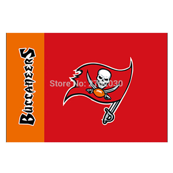 Red Design Tampa Bay Buccaneers Flag Banners Football Team Flags 3x5 Ft Super Bowl World Champions Banner World Series Flying