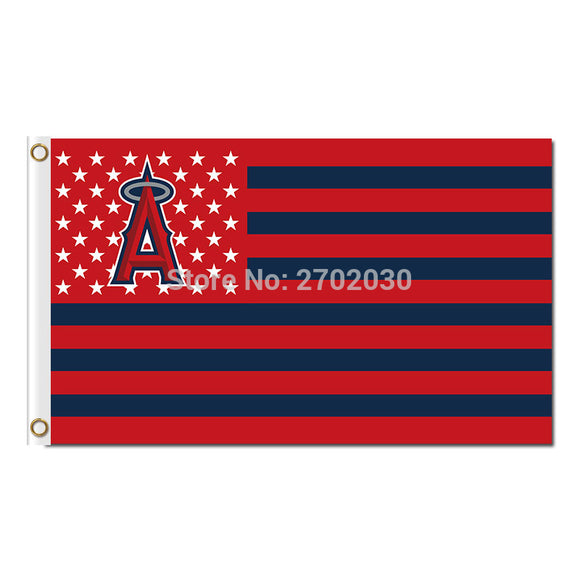 American Design Los Angeles Angels Of Anaheim Flag World Series Champions Baseball Cub Fan Team Flags Banner 3x5 Ft Banners
