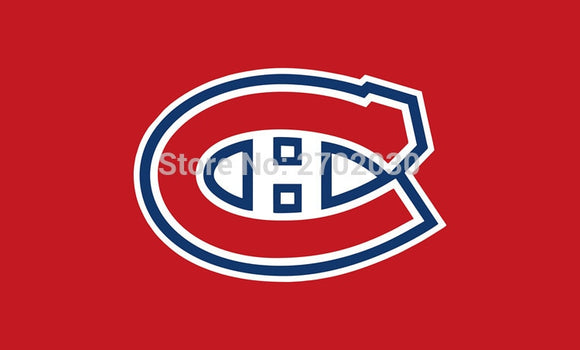 Montreal Canadiens  National Ice Hockey Sports Team 3ft X 5ft Custom Banners Flags With Sleeve Gromets 90*150CM